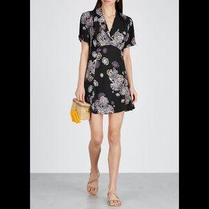 Free People-Blue Hawaii Mini Dress